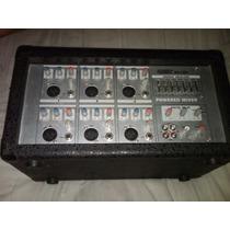 Mezcladora De Audio De 6 Canales Marca Radox Mod.ma 1006