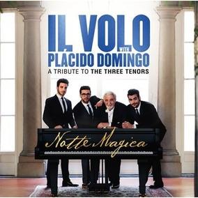 Cd+dvd Il Volo & P. Domingo Notte Magica Open Music