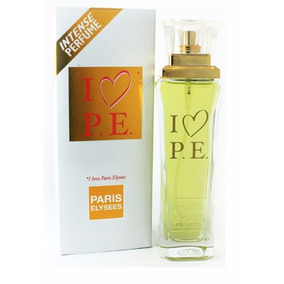 Perfume Feminino Paris Elysees I Love P.e Pe 100ml