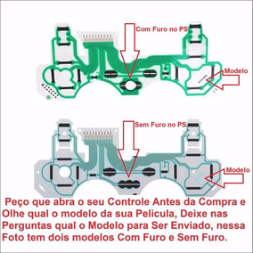 20 Pçs Pelicula Condutiva Para Controle Do Ps3 Todos Modelos