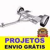 Projeto Reboque / Carretinha Para Transporte De Carros Ebook
