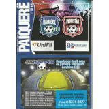 Tabela Campeonato Paranaense E Paulista 2017