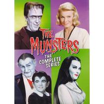 La Familia Monster The Munsters Serie Completa Boxset En Dvd