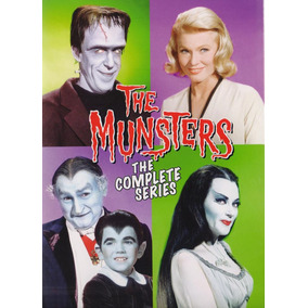 La Familia Monster The Munsters Serie Completa Boxset En Dvd