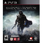Videojuego Ps3 Middle Earth Shadow Of Mordor