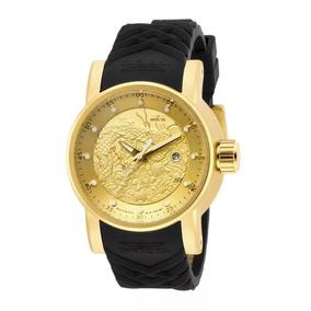 Relógio Invicta Yakuza 15863 Dourado Automático Vp2