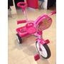 Triciclo Para Niña Marca Apache, Color Rosa Barbie