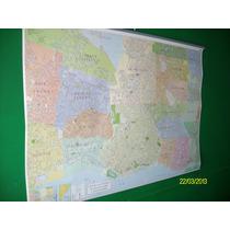 Mapa Mural De Gba Y Caba