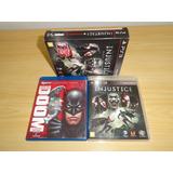 Ps3 Playstation 3 Injustice Box + Liga Sony Usado Original