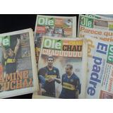 Lote 22 Revista Diario Ole Boca Poster Campeon Grafico River