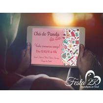 Convite Digital Chá De Panela