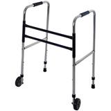Andador Ortopédico Em Alumínio Dobrável E Ajustável Com Roda