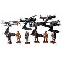 5 Aviones De Guerra + 6 Soldados