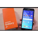 Galaxy J7 Celular Samsung Galaxy J7 Blanco Dorado