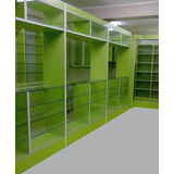 Muebles para botica farmacia melamine en mercado libre per for Muebles usados arequipa