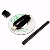 Adaptador Wifi Usb Inalambrico 300 Mbp Autenticos Antena