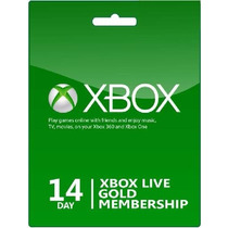 Xbox Live Trial 14 Dias Solo Mercadopago Entrega Inmediata!