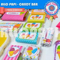 Golosinas Personalizadas P/ 20 Invitados Candy Bar Souvenir
