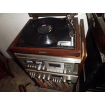 Receiver Gradiente 1450 Com Deck E Toca Disco(02 Caixa)