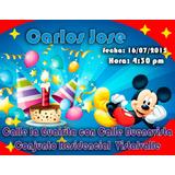 Tarjetas De Invitacion Cumpleaños Virtual Digital Whatsapp