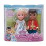 Educando Muneca Princesa Disney Cenicienta C Principe 15 Cm