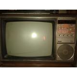 Antiguo Tv Philips 20 Pulgadas Y Videograbadora A Reparar