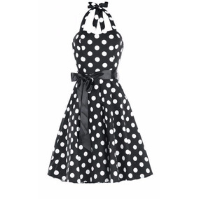 Vestido Vintage Pin Up Rockabilly Estilo Años 50s. Book 15