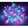 Luz Navidad Navideña Tira 100 Leds Luces Multicolor Arbol