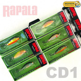 Señuelos Rapala Cd1 Count Down 1 Spinning Ultralight Truchas