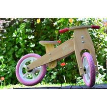 Bicicleta Madera Baika Chicos Infantil Inicio Segura Envio G