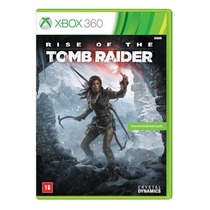 Rise Of The Tomb Raider X360 Mídia Física Português Lacrado
