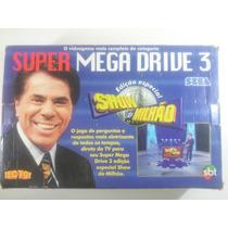 Video Game Mega Drive 3 Show Do Milhão Na Caixa