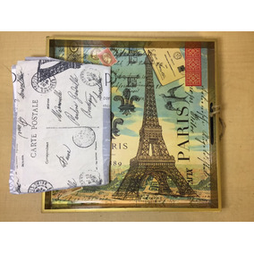 Charola Bandeja Torre Eiffel Muchael Desing B5