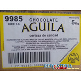Chocolate Aguila Taza Tableteado Semiamargo X 5 K. Oferton!!
