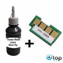Refil Toner Mlt-d101 Scx3405 Ml 2165w + Chip