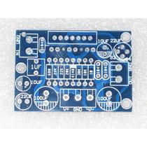 Placa Lisa Montar Amplificador Ci Tda7294 Ou Tda7293 100w