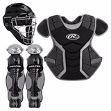 Arreos Equipo Catcher Rawlings Negro Adulto