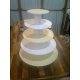 Base Para Ponquesitos Cupcake 5 Pisos Reversibles
