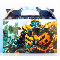 Transformers 50 Cajitas Golosineras
