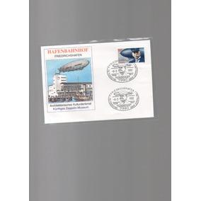 Envelope Comemorativo Da Morte De G.zeppelin