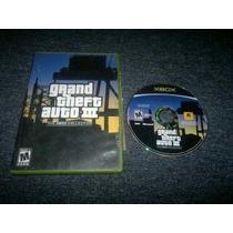 Grand Theft Auto Iii Para Xbox Normal,funcionando Perfectame