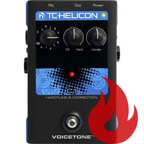 Tc Helicon C1 . Efeitos Para Voz . Loja . Nf + Gtia !