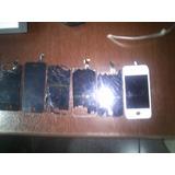 6 Telas Quebrada De Iphone 4s E 5c Lcd Funcionando