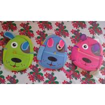 Mochila Infantil Bichos - Vários Modelos - Frete Grátis
