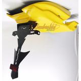 Kit Eliminador Hornet 2005 2006 2007 Amarelo Suporte + Fibra