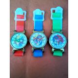 Lote X 3 Relojes De Juguete De Nena Años 70s Made In Japan