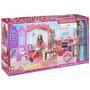 Nova Casa De Férias Da Barbie C/ Acessórios E Boneca- Mattel
