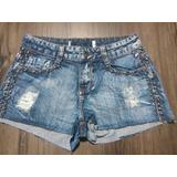 Super Oferta! Shorts Feminino Jeans Spike 39,90por29,90!novo