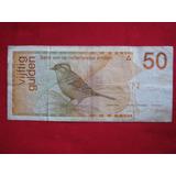 Curacao Antillas Holandesas 50 Gulden 1990