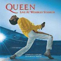 Cd Queen Live At Wembley Stadium Importado
